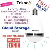 Bulb wireless IP Camera - Spy camera cctv Lampu bohlam