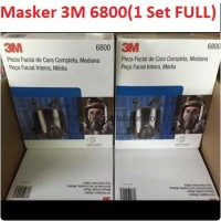 Masker 3M Full Facepiece Reusable Respirator 6800