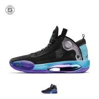 Sepatu Nike Air Jordan 34 Black Blue Purple Premium Original