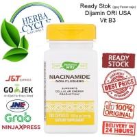 Natures Way Niacinamide 500 mg 100 Cap Nature Way Niacinamide ORI USA