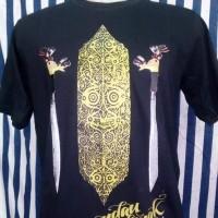 Baju Kaos Distro.Baju Kaos Pria/Cowok Motif Mandau Dayak Kalimantan#00