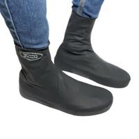 Cover Shoes Jas Pelapis Sepatu Karet Anti Air Hujan Waterproof HITAM
