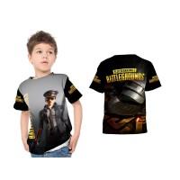 Kaos Baju Anak laki laki dan perempuan Custom Fullprint PUGB 04