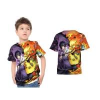Kaos Baju Anak laki laki & perempuan NARUTO SASUKE Fullprint Custom