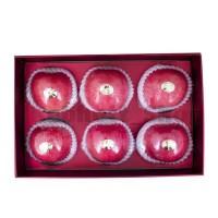 Apple Fuji Wang Shan Fruits Gift Pack 6'S | Apel Fuji Wang San 6 Pcs