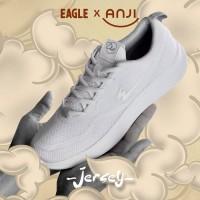 Sepatu Sneakers Pria EAGLE JERSEY Dia Kolaborasi Eagle x Anji Manji