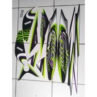 stiker striping yamaha mio j 2013 hitam hijau