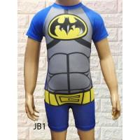 Baju renang Diving Anak cowok laki usia SD Batman limited 2-7tahun