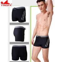 Yingfa Celana Renang Boxer Brief Nyaman untuk Pria y3533