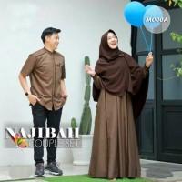 Baju Gamis Wanita Set Syari Cp Syari Couple Syari Couple Muslimah