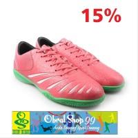 Sepatu Futsal Ortuseight Blitz IN - Light Red - Original suku cadan