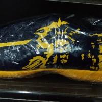 Sepatu Futsal Mizuno RYUOU Peacoat Gold Fusion Original last stok
