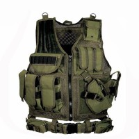 Army Military Equipment Tactical Vest Police Armor Gear Paintball Hunt