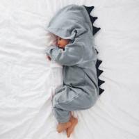 Lucu Bayi lahir Bayi Laki-laki Perempuan Dinosaur Berkerudung Baju