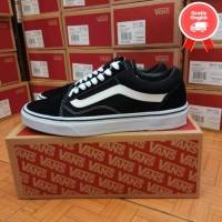 Sepatu Vans Old skool Black white Premium
