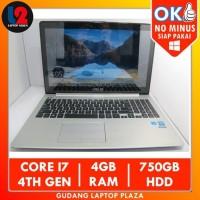 ASUS VivoBook S551L Touchscreen Core i7 4th Gen 4GB 750GB