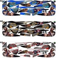 Sticker Striping Variasi Animasi Mio Soul Gt 2012-2014 *4
