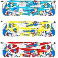 Sticker Striping Variasi Animasi Mio Soul Gt 2012-2014 *7
