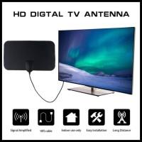 Taffware Antena TV Digital DVB-T2 4K High Gain 25dB TFL D139 Black