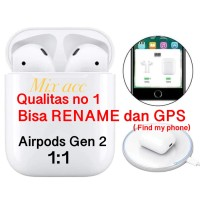AirPods Apple Gen 2 with Pop Up Animation Earphone Apple IOS & Android
