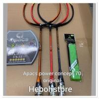 SALE Raket Badminton APACS POWER CONCEPT 70 kuat 35 Lbs original!!!