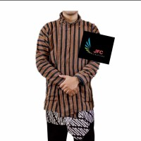 Setelan Baju Celana Jarik Tapih Batik Surjan   Lurik Dewasa
