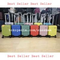 16 inch tas koper mini polo kabin roda 4 fiber kecil cabin size roda 4