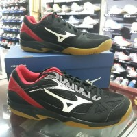 Sepatu Volly Mizuno Cyclone Speed 2 Black/White/ Red