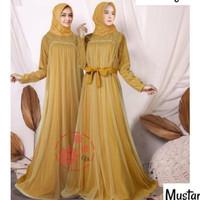 gamis seragam baju muslim maxi baju pernikahan wanita muslimah mewah