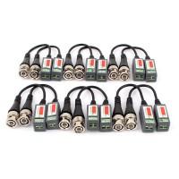 CCTV Camera BNC Video Balun Passive Cat5 UTP Coax Cable Adapter