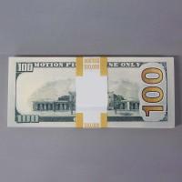 Mainan 100 Lembar Uang Tunai 100 Dollar untuk Latihan Kurensi digitalw