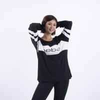 Baju Olahraga Lengan Panjang Big Size|Baju Senam Muslim Murah