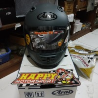 Helm Fullface Arai Rapide-ir Grey Original DOT Made in Japan
