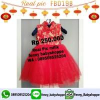 Baju cheongsham FB019B tutu dress
