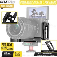 UURig R006 Quick Release L Plate For Sony A6400 A6300