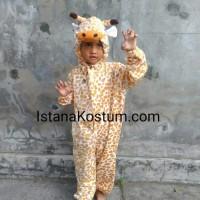 Baju Kostum Anak Karakter Hewan Jerapah Cocok Untuk Pentas seni Cerita