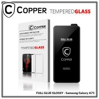 Samsung Galaxy A71 - COPPER Tempered Glass FULL GLUE PREMIUM GLOSSY