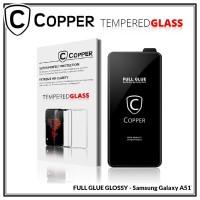 Samsung Galaxy A51 - COPPER Tempered Glass FULL GLUE PREMIUM GLOSSY
