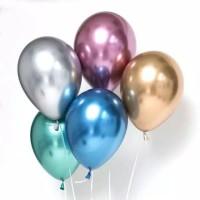 Balon Latex Chrome 12inch / Lateks Chrome