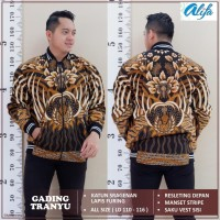 Super Brand Fest Jaket Batik Pria Motif Khas Indonesia Original Produk