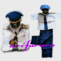 kostum karnaval baju profesi masinis anak