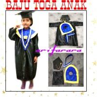 Baju wisuda anak / baju toga Tersedia Ukuran PAUD -TK- SMP