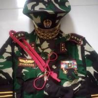 baju anak TNI AU+AL+polisi+loreng+TNI AD