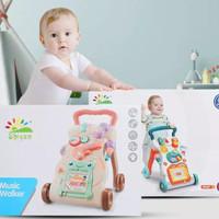 Babby walker plus mainan bayi