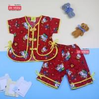 Setelan Sanghai uk Bayi / Setelan Balita Baju Anak Baju Imlek Kaos