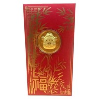 HOT SALE HOT SALE Angpao emas 24 karat| amplop imlek 2020 TERJAMIN