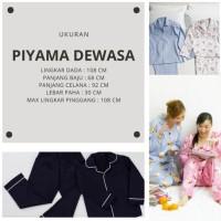 Promo|Best Seller Piyama Dewasa Tangan Panjang Tayo Dan Car Pp Ld 108