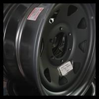 HEMAT Velg AVANTECH 16' Hitam Dove 6 Lubang Toyota Hilux/Strada/Triton