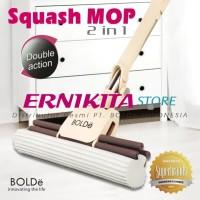 BOLDE Squash Mop 2 in 1 - Alat pel Lantai dan Jendela