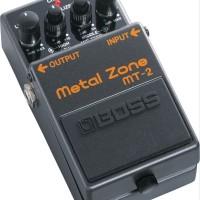 BOSS MT2 MT-2 MT 2 METAL ZONE Efek Gitar Pedal Stompbox